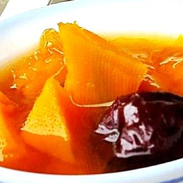 南瓜紅棗湯