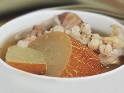 老黃瓜豬骨湯