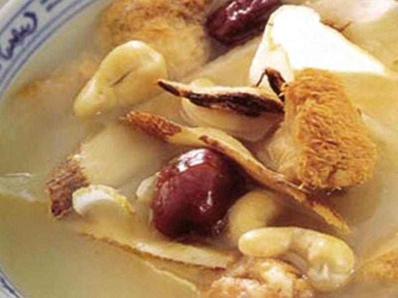 姬松茸猴頭菇豬展湯
