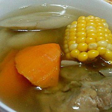 牛蒡蘿蔔粟米湯