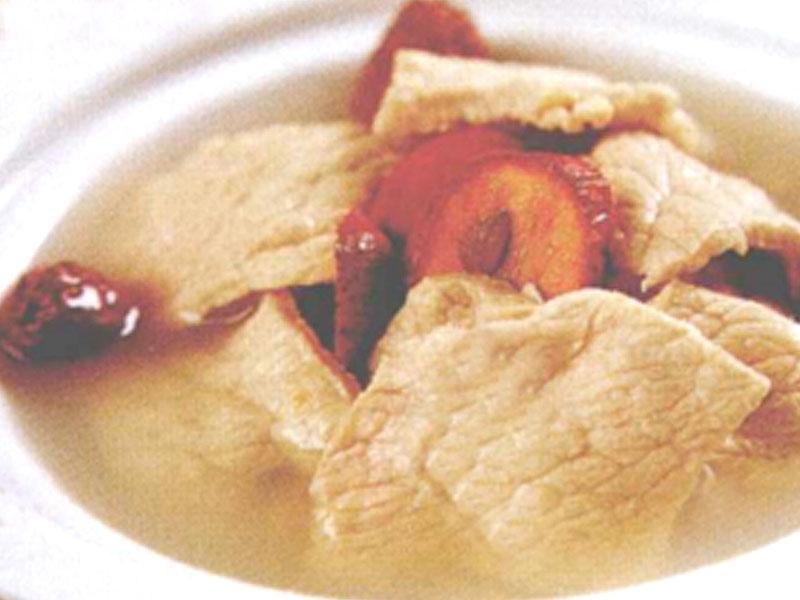 山楂麥芽瘦肉湯