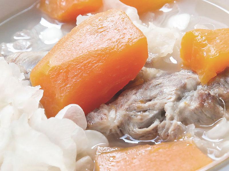 木瓜雪耳瘦肉湯