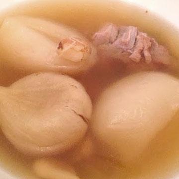 馬蹄瘦肉湯