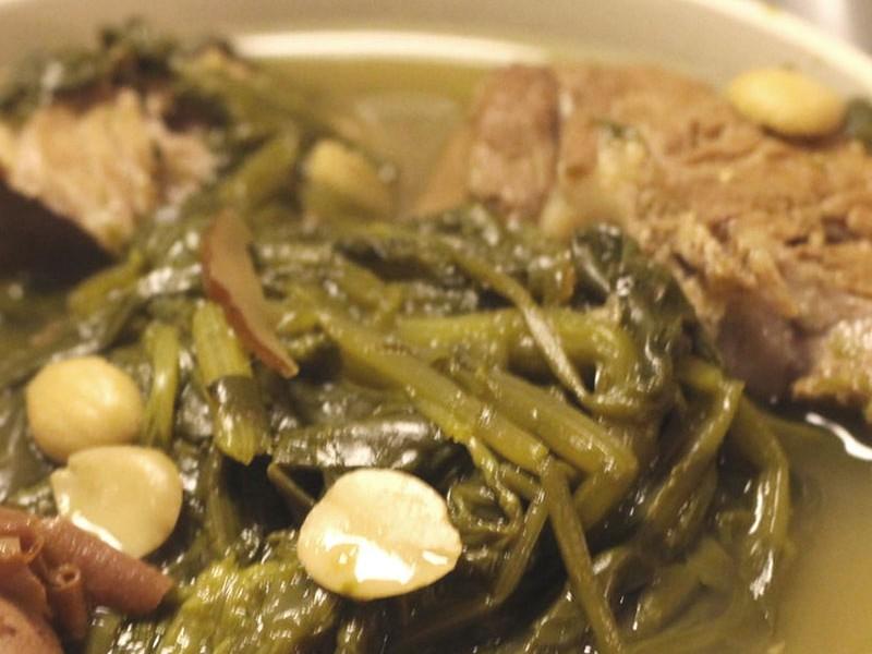 西洋菜羅漢果豬腱湯