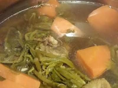 西洋菜羅漢果瘦肉湯